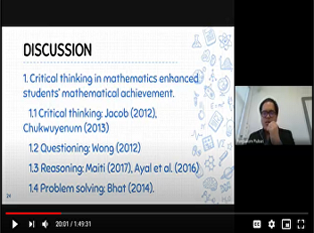 Defending A Thesis Oral Exam Using Google Hangouts Meet